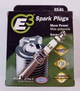 E3.81 E3 Premium Automotive Spark Plugs - 4 SPARK PLUGS