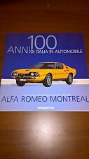 ALFA ROMEO MONTREAL rare booklet 30 PAGES