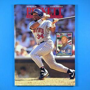 Beckett Baseball Card Monthly #87 November 1992 Kirby Puckett Hank Aaron