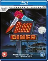 Blood Diner - Restored and Remastered [Blu-ray] [DVD][Region 2]