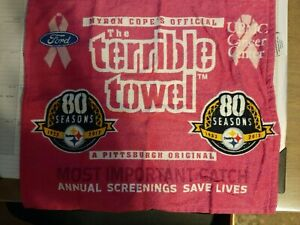 Myron Cope's Official Terrible Towel - Pittsburgh Steelers