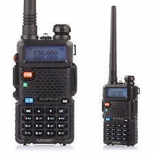 Two Way Radio Scanner Handheld Police Fire Transceiver Portable F-Antenna HAM NE