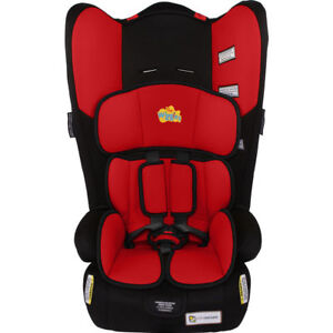 The Wiggles InfaSecure  Rally II Convertible Car Booster Seat RED SIMON 0-8yr