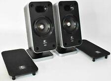 Set Of 2 Logitech Z6 THX Replacement Surround Sound Computer Satellite Speakers