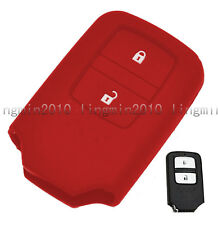 2 BTNS Silicone Case Key Cover Protecting Shell For Honda Fit Odyssey Vezel CRV