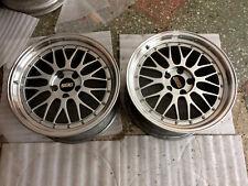 "JDM Legend BBS LM 18"" 9,5J ET38 PCD114,3 GTR (x2) Wheel Rims Forged(!)"