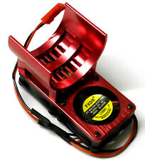 H006R 550 540 Motor disipador de calor refrigeración ventilación del disipador de calor de aleación rojo doble Ventilador Para JST