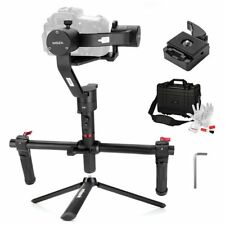 MOZA Air 3 Axis Handheld Gimbal Stabilizer with Dual Handheld Grip+ Tripod+ Gift
