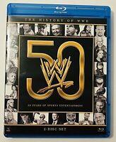 WWE: History of the WWE  Blu-ray Disc  2013  2 Disc Set