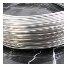A65//5 1m Metallic Black 0.5mm Plastic Coated Beading Wire