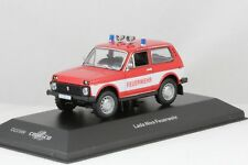 1/43 Cars & Co CCC049 East German DDR  VAZ 2121 LADA NIVA fire department NIB