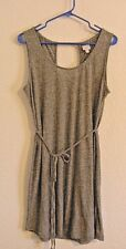 Bench urbanwear size XL X-Large dress cover up gray tie string soft CUTE beach