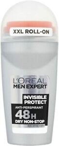 L'Oreal Men Expert 48hr Invisible Anti-Per Protect Roll On 50ml