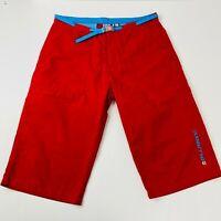Billabong Ladies Red Quickdry Long Shorts Size 10