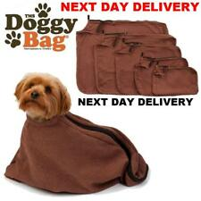 New Tms Doggy bag, Micro-fleece dog towel microfibre (Size Medium)