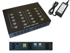 Hub Industrial/Charging Station USB 2.0 - 20 Ports - 90 Watts