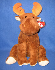 LUMPY the MOOSE - TY PLUFFIES - NEW - MINT TAGS