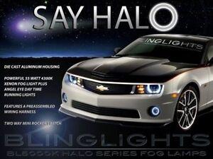 2010 2011 2012 2013 Chevy Camaro Halo Foglamps Drivinglight Kit + Harness/Switch