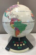 Geosafari World Exploratoy Model 6490 Electronic Talking Globe Geography Game