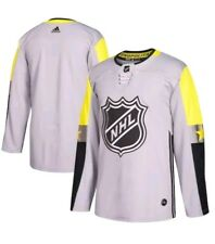Adidas NHL 2018 All-Star Jersey Metro Division Men's Size 50 Medium Grey $190