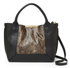 NWT Botkier Perry Small Tote, Dark Snake, MSRP: $288, Adjustable/Removable Strap