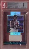 "MUHAMMAD ALI ""THE GREATEST"" AUTHENTIC GRADED BGS MINT 9 EVENT WORN RELIC CARD"
