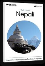 Eurotalk Talk Now Nepali for Beginners - Download option and CD ROM