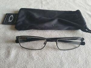 Oakley Rotor 2.0 black glasses frames. With bag.