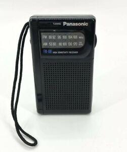 Panasonic RF-501 FM/AM High Sensitivity Receiver Portable Vintage Pocket Radio