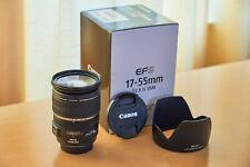 Canon EF-S 17-55mm f/2.8 AF IS USM Lens - LIKE NEW/NEUWERTIG