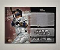 2020 Update Major League Material Relic Black #MLM-GT Gleyber Torres /199