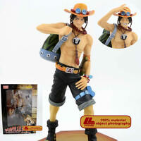 """Anime One Piece Portgas D Ace P.O.P 10th Limited Ver. 9"""" PVC Figure Toy Gift NIB"""