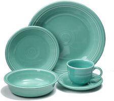 Fiestaware 20 Piece Dinnerware Set - Turquoise Blue