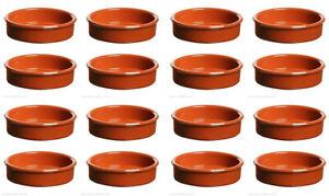 14cm AZOFRA Classic terracora Tapas pots plates Spanish dishes