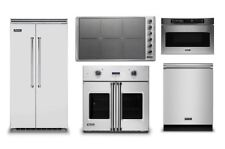 Viking 42in Refrigerator, 36in Induction Cooktop, Oven, Microwave, Dishwasher