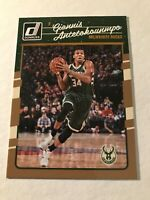 GIANNIS ANTETOKOUNMPO 2016-17 PANINI DONRUSS OPTIC #5 MILWAUKEE BUCKS
