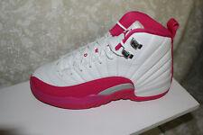 Air Jordan 12 Retro GG 'Vivid Pink'  510815-109, Size 6Y