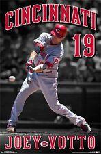 JOEY VOTTO - CINCINNATI REDS POSTER - 22x34 MLB BASEBALL 13995