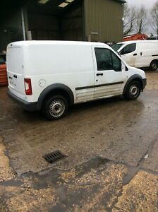 2012 FORD TRANSIT CONNECT T200 MK1 COMPLETE DRIVERS RIGHT REAR DOOR IN WHITE