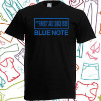 Blue Note Finest Jazz Since 1939 Men's Black T-Shirt Size S to 3XL