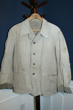 Original Early WW2 Swedish Army Soldiers Drill Tunic, 1941 dated