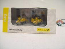 "Zündapp Bella 2er Set "" Dt. B. post "", 1953, Yellow, Premium Classixxs 1:43, Ob"