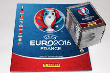 PANINI UEFA EM EURO 2016 France-International Edition 100 packets + album MINT