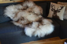 Sheepskin Rugs Decorative Luxury Faux Sheepskin Seat Cover Chair Pad Plain