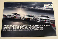 BMW . M Performance  Accessories . 2015 . Sales Brochure
