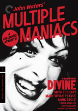 MULTIPLE MANIACS (CRITERION COLLECTION) - DVD - Region 1 - Sealed