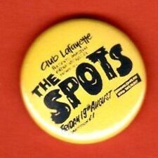 THE SEX PISTOLS ON TOUR SPOTS BUTTON BADGE PUNK ROCK SECRET VICIOUS ROTTEN UK