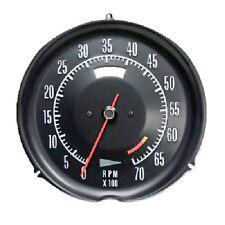 1972 1974 Corvette Tachometer Mechanical 6500 Redline New