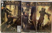 Deus Ex Human Revolution 1 2 3 (2012, Marvel) NM, Video Game Comic, Low Print