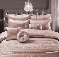 CASSANDRA EMBROIDERED 100% Polyester Duvet Quilt Cover Set, Bed Set Or BedSpread